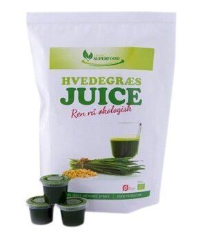 Hvedegræs Juice (som shots) 30 stk.