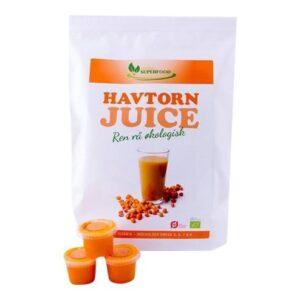 Havtorn Juice (som shots)