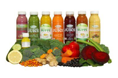 5 dages Juicekur med 2 daglige supper -0