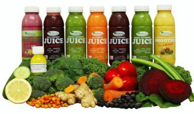 3 dages Juicekur uden suppe med ØKO Juices, Smoothies og Ingefærshots