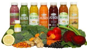8 dages Juicekur med 2 daglige supper