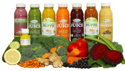 Juicekur med 2 daglige supper ØKO - God mæthed