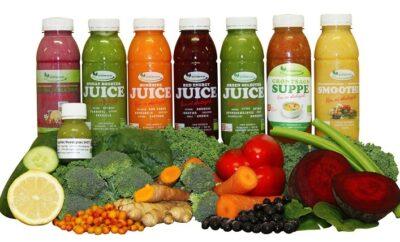 8 dages Juicekur med 1 daglig suppe - indeholder smoothies, juices, supper og ingefærshots