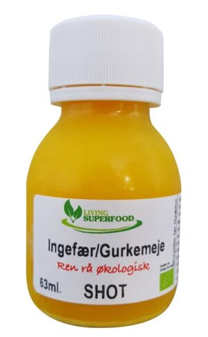 Ingefær Gurkemeje shot (63ml) -0