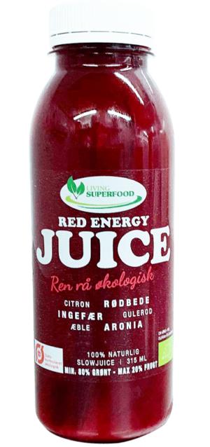 Red Energy Juice