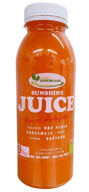 Gulerodsjuice – Sunshine (315ml.)