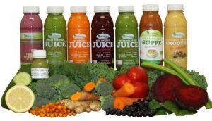 1 dags Juice kur med 1 daglig suppe