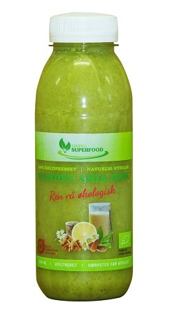 Hvedegræs Smoothie – Morgendrik (315ml.)