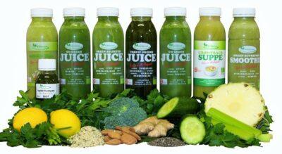 8 dags Green Juice kur - indeholder grønne juices, smoothies, supper og ingefærshots