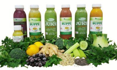 Souping Grøn 5 dage - Suppekur med skønne supper, juices, smoothies og ingefærshots