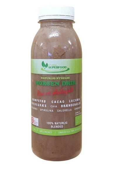 Morgendrik Smoothie - Cacao og Superfoods (315ml.) -0