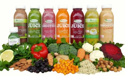 8 dages Juicekur - Fitness ØKO - lækker sammensætning