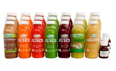 3 dags Juicekur til vægttab og sundlivsstil